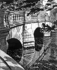 St John's Old Bridge, Cambridge (giclée only)
